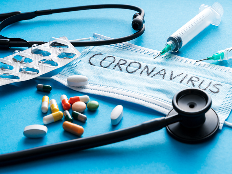 News Picture: Cancer Drug Might Help Curb Severe COVID-19