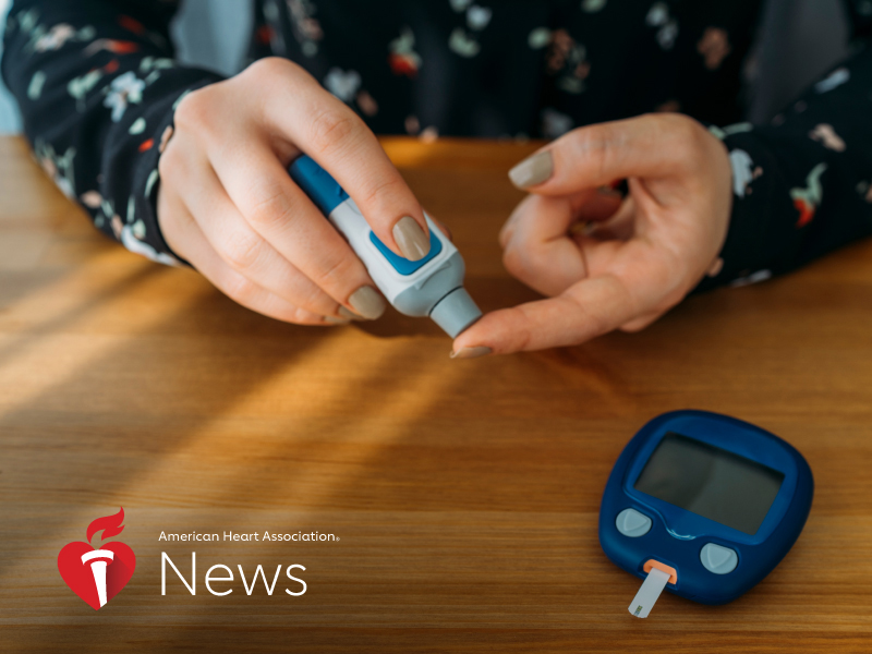 News Picture: AHA News: Controlling Diabetes Takes on Greater Urgency During COVID-19 Pandemic