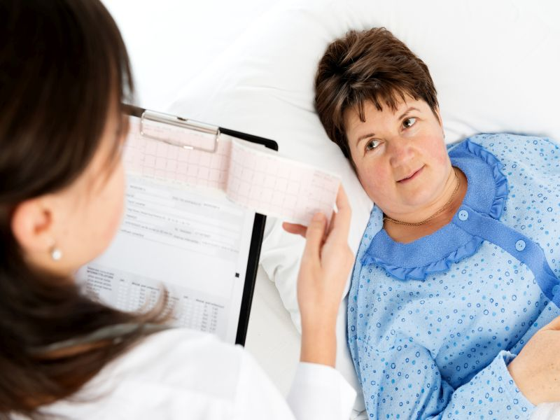 News Picture: Women at Higher Risk When Heart Attack Strikes the Young